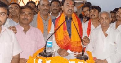 राम मंदिर घोषणा पत्र में पर चुनाव विकास पर लड़ेंगे: भाजपा अध्यक्ष