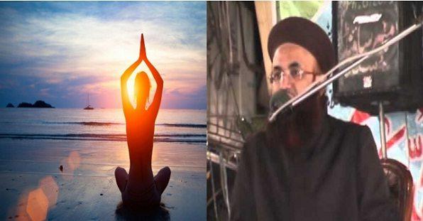 """मुस्लिम उलेमा ने योग के समर्थन में """"अल्लाह हु अकबर"""" का सहारा ले वो बोला जिसे सुन कर जल जाएंगे योग विरोधी"""