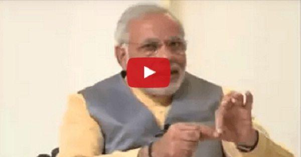 देखें विडियो: मोदी जी ने बताई चौका देने वाली घटना -जब एक पत्रकार आया मोदी का स्टिंग ऑपरेशन करने