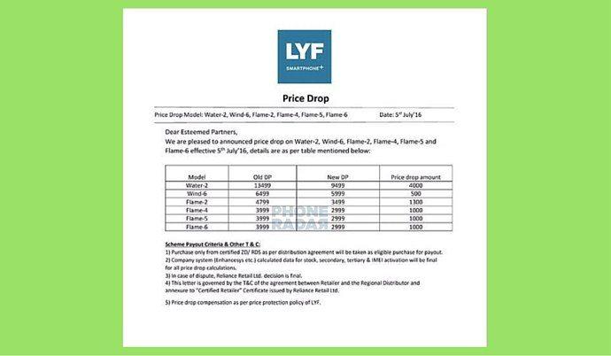 Photo of रिलायंस जियो के लाइफ हैंडसेट्स की गिरी कीमतें, शुरुआती फ़ोन अब सिर्फ ₹2999 के