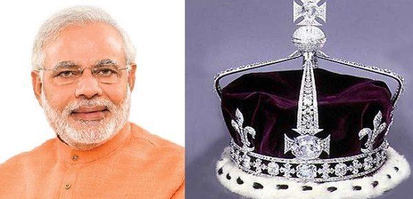 मोदी सरकार देश में वापस लाएगी कोहिनूर हीरा !!