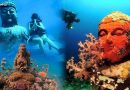वीडियो: देखें समुद्र में बसा है ये 5000 साल पुराना हिन्दू मंदिर