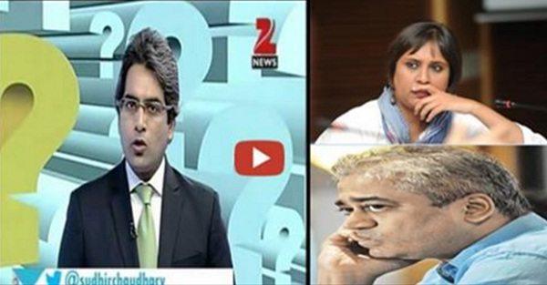 सुधीर चौधरी ने आतंक समर्थक राजदीप, बरखा और पाकिस्तान को धो डाला