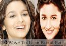 चेहरे की चर्बी को कम करने के घरेलू उपाय