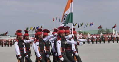 passing out parade Kashmir