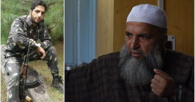inter view of burhan wani's father