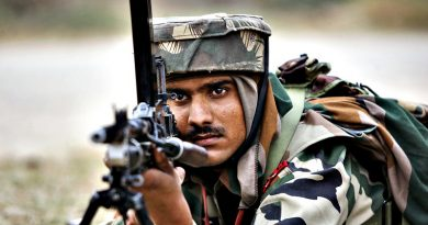 Muslim stopped Indian Army
