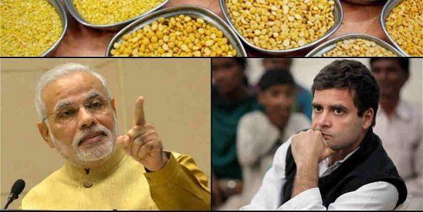 फर्जी निकला राहुल का ' अरहर मोदी ' वाला नारा ! दाल की कीमतों के लिए राज्य हैं जिम्मेदार