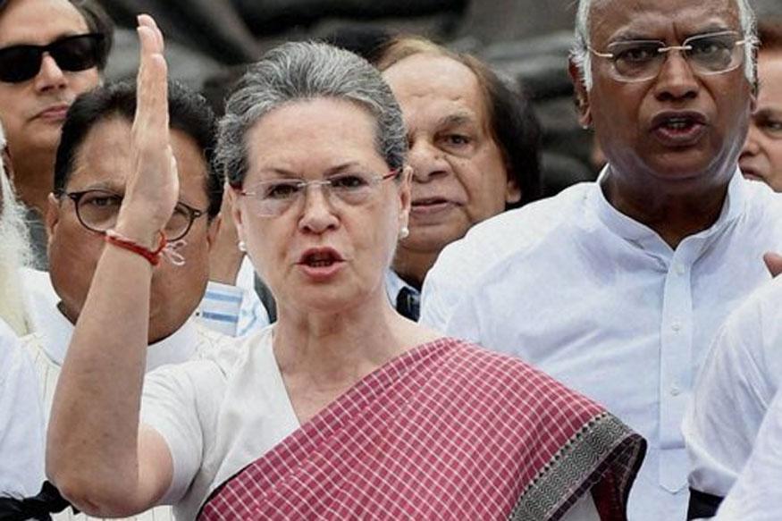 Sonia Gandhi attacked modi