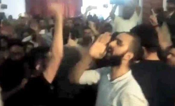 देश में एक और जेएनयू – लगे देश विरोधी नारे, आतंकी बुरहान को बताया हीरो