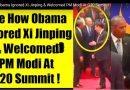 सबके सामने ओबामा ऐसे मिले मोदी से कि , जिनपिंग की इज़्ज़त की उडी धज्जियां !