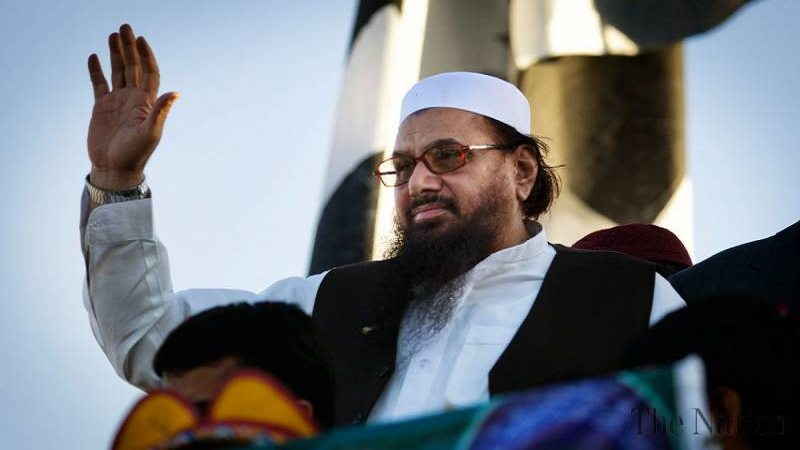 Hafiz Saeed threatening