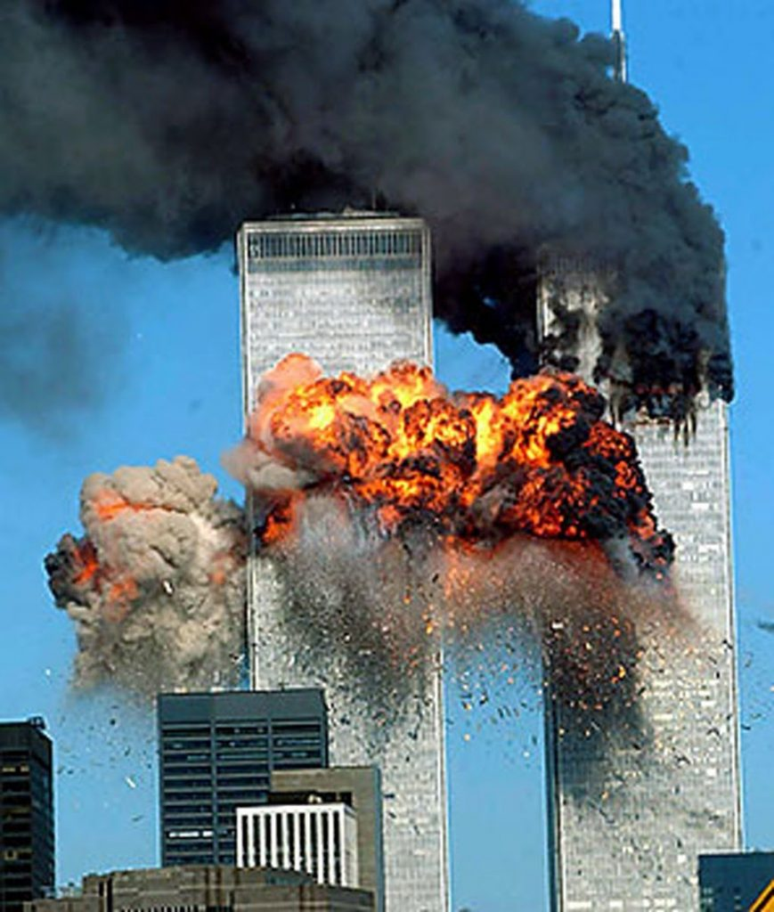 nostradamus predictions about 9/11 USA Twin Towers