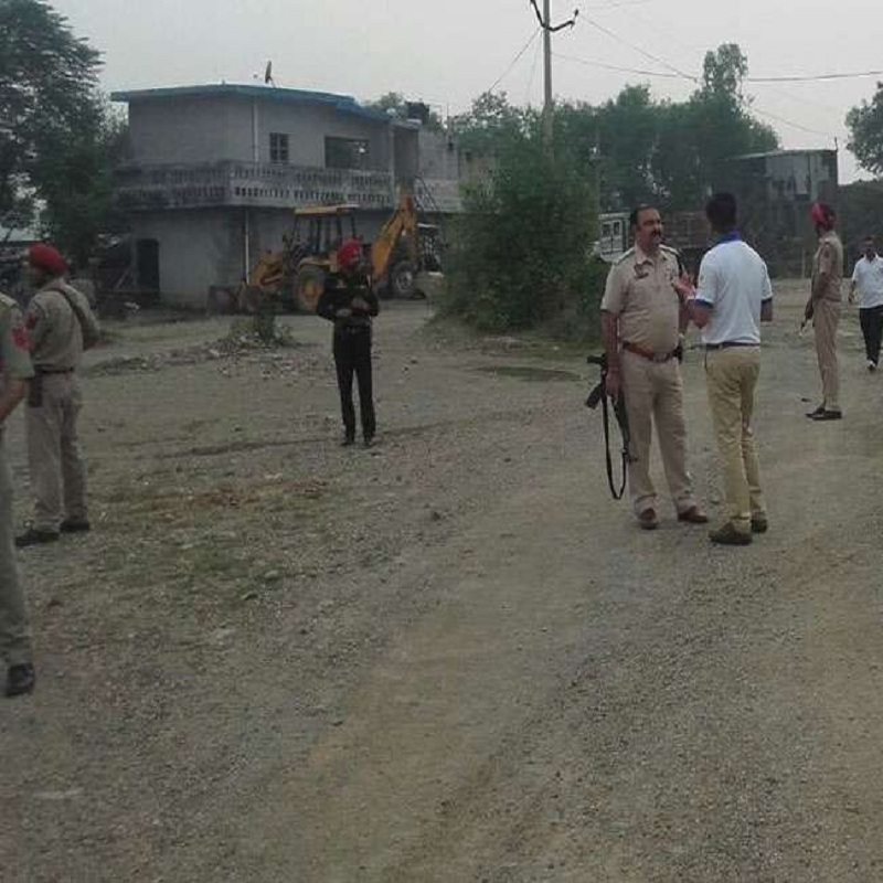 Pathankot, looked suspicious