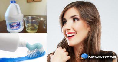 pregnancy test bleach toothpaste