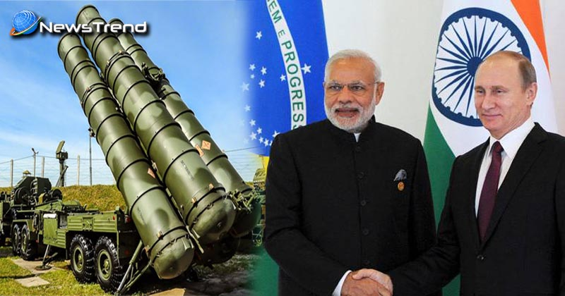 India Russia S-400 missile system deal