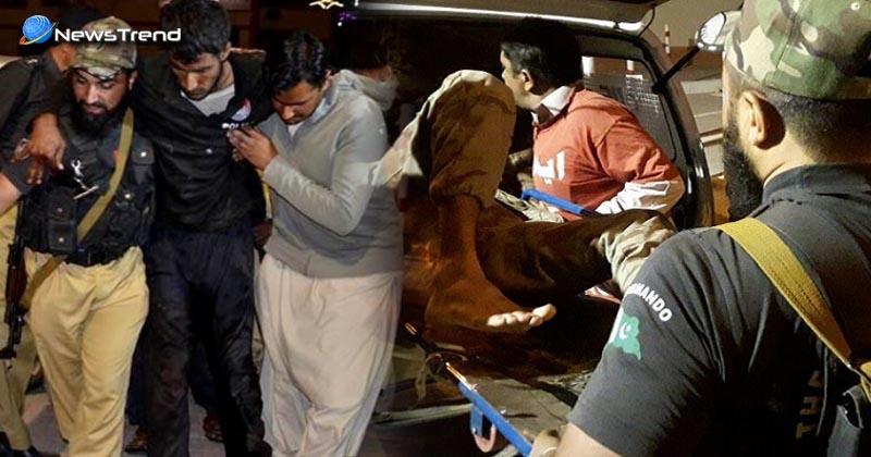 Terrorists attack quetta police training center in Pakistan