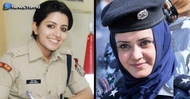 खूबसूरत महिला ऑफिसर्स