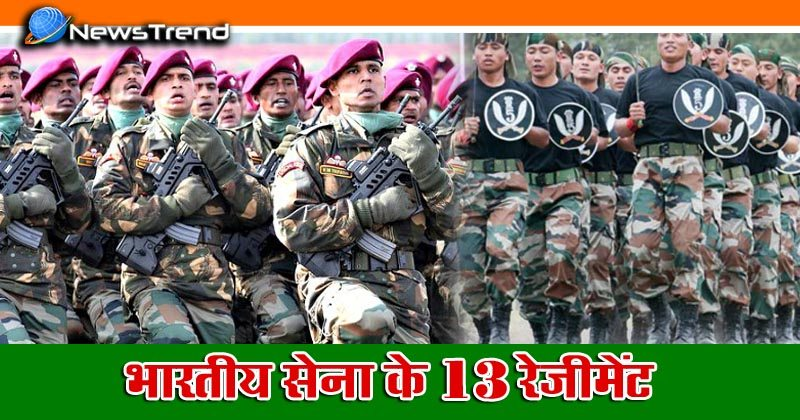 Indian Army Regiments