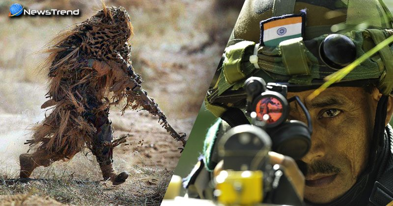 भारत ने सीमा पर तैनात किये जाबांज स्नाइपर शूटर