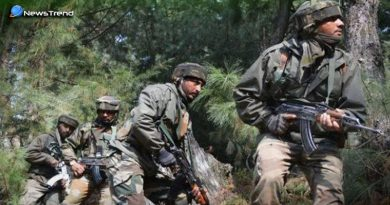 Encounter Indian Army and militants