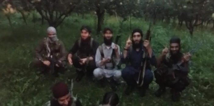 Terrorists video Message: Terrorist are knocking at door of Kashmir