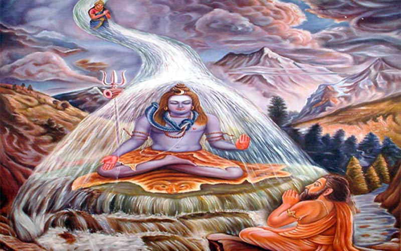 गंगा नदी का जन्म