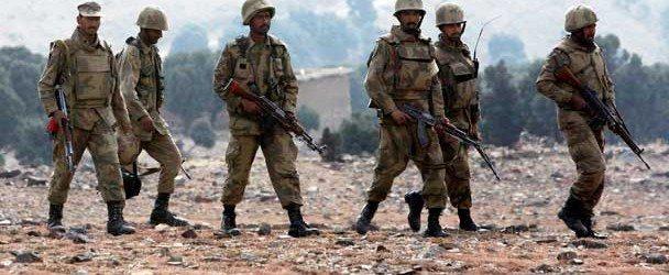 Special preparation of border troops