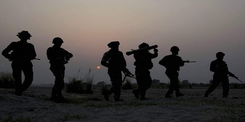 Ceasefire violation by Pakistan on Diwali