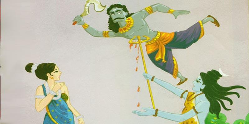 शिव जी ने किया अपने ही पुत्र का वध