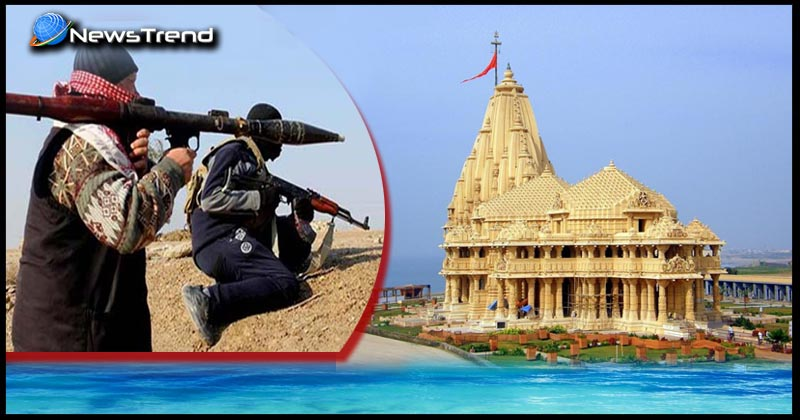 somnath temple terrorists attack