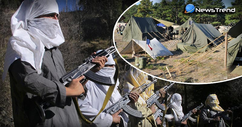terrorist attack army camps