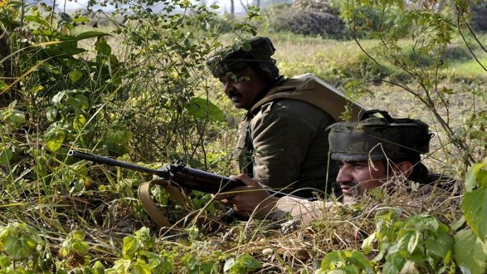 Jawan killed in naushera sector