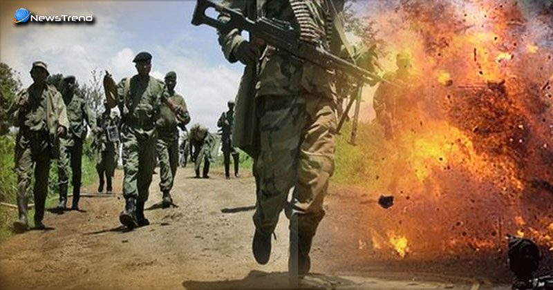 Indian Soldiers Injured Congo Blast