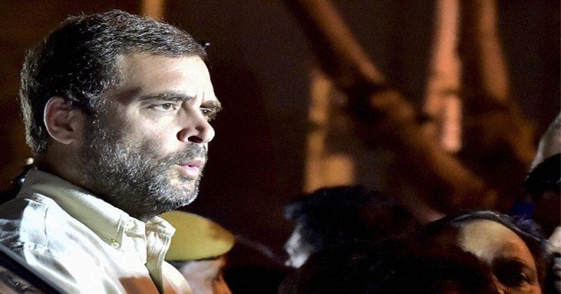 Rahul was opposed in Delhi