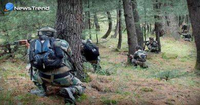 encounter with terrorist in j & k