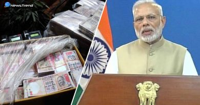 Surgical strike on black Money