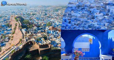 beutiful blue city jodhpur