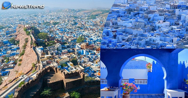beutiful blue city jodhpur