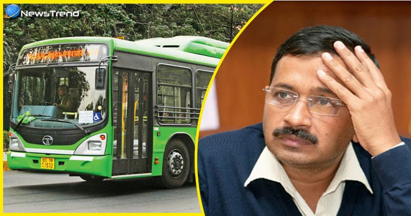 Kejriwal DTC buses black money