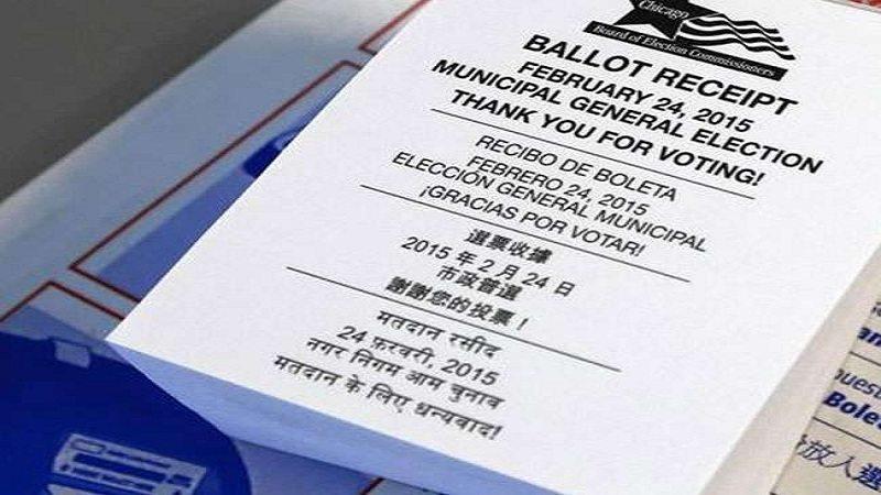 US presidential election Hindustan, Hindu and Hindi