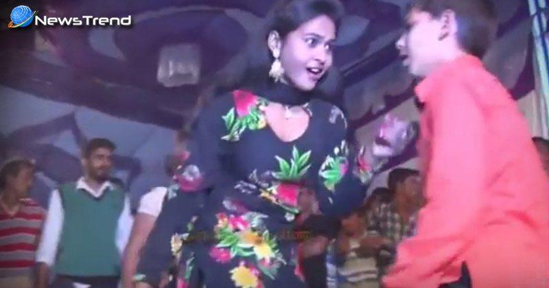 हरियाणा की इस छोरी और 12 साल के लड़के ने किया ऐसा डांस की महफ़िल लूट ली.... वीडियो वायरल!