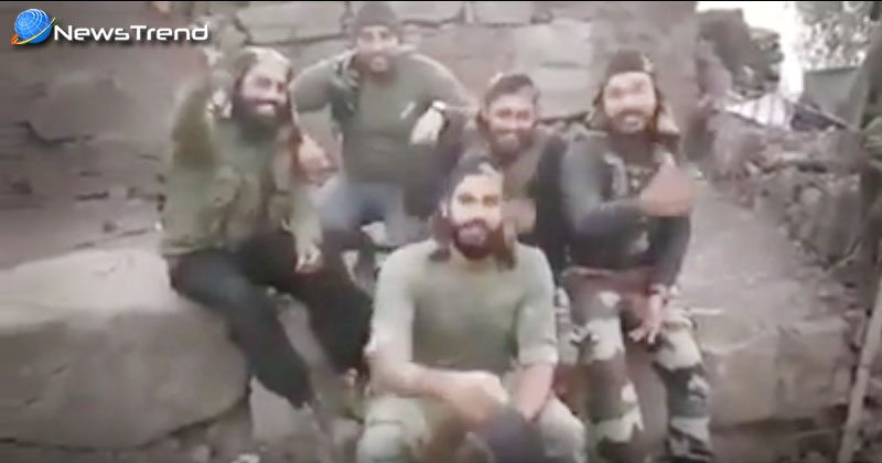 indian army singing song