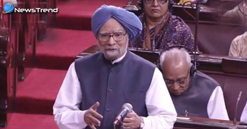 Manmohan Singh breaks silence in Rajya sabha