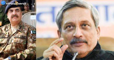 Defence Minister Manohar Parrikar Speech