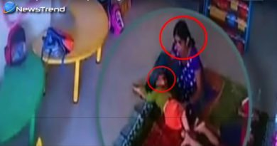 Child Beaten By Caretaker