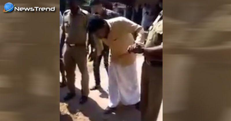 police torture swayamsevak subeesh