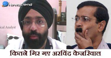 Kejriwal sharing fake news on twitter