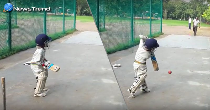 4 years childern play wondrfull cricket