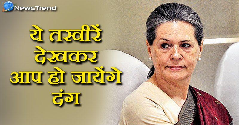 Sonia Gandhi photos goes viral